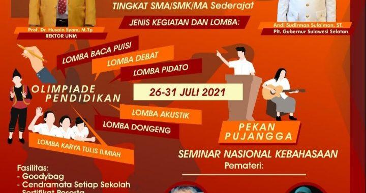 PERTAHANKAN EKSISTENSI BAHASA INDONESIA, HIMAPRODI PBSI KEMBALI ADAKAN OPEN & PEKAN PUJANGGA